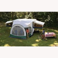 DOMETIC CABANA SCREEN ROOM Question 12' or 10'   Pop-up ...