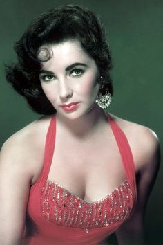 1950's --- British-American actress Elizabeth Taylor --- Image by © Sunset Boulevard/Corbis