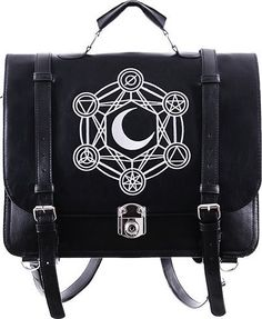 Restyle - Moon Messenger Backpack Bag - Buy Online Australia Beserk