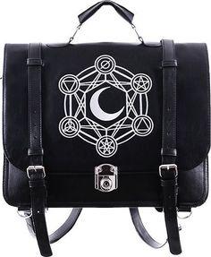 Restyle - Moon Messenger Backpack Bag - Buy Online Australia Beserk