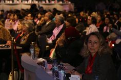 """Berlin, March7, 2015: Prominent Women's rights activists attended joined tens of thousands gathered in Berlin today to commemorate International Women's Day, in the gathering for """"Tolerance and Equality for Women""""."""