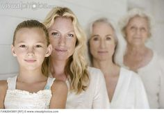 Four generations of women