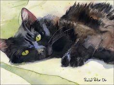 Rachel Parker, Watercolor Artist