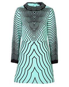Marc by Marc Jacobs - Radio Waves Print Dress