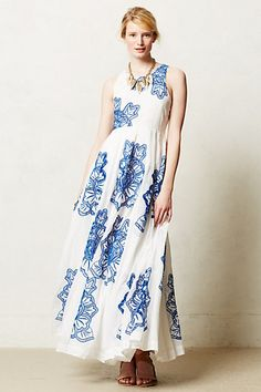 Anthropologie Maxi (great for the beach)