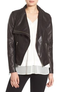 I want THIS jacket. Tried it on in a large and love it. Perfect for layering over a sweater and zips on the bias