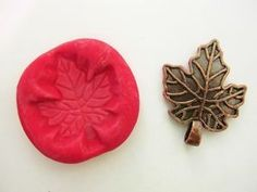 How To Make A Leaf Mold With Air Dry Cold Porcelain Clay | eBay Porcelain Clay, Cold Porcelain, Jewelry Making Tutorials, Clay Tutorials, Air Dry Clay, Dremel, Polymer Clay, Ebay, Clay Molds