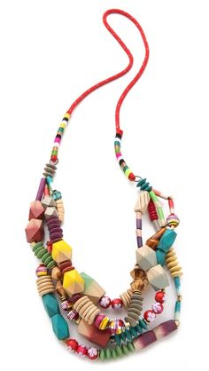 bluma project Bati Necklace - perfect summer piece! (or for that dead of winter trip to the tropics)
