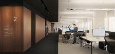Law Firm Office Interior Design | HAAST Architectural Bureau | Workspace Design