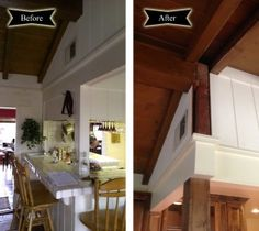 Before and After: Lifted Ceiling   Envision Design Escondido Kitchen Remodel
