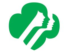 girl scout trefoil profiles logo design