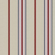 Lifeguard Stripe - Red Sails - Outdoor - Fabric - Products - Ralph Lauren Home - RalphLaurenHome.com