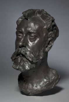Auguste Rodin, bronze, Overall: x x cm x 8 x 11 in). Bequest of James Parmelee Modern Sculpture, Abstract Sculpture, Wood Sculpture, Bronze Sculpture, Metal Sculptures, French Sculptor, Auguste Rodin, How To Draw Hair, Sculpting