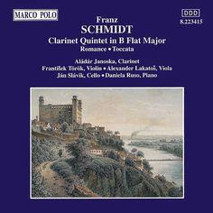 SCHMIDT: Clarinet Quintet in B Flat Major / Romance-Alada Janoska-Marco Polo