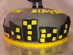 chocolate cake fondant royal icing batman