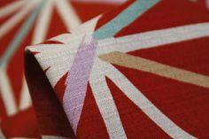 Pick-Up Sticks Red - Japanese Cotton - Tessuti Fabrics - Online Fabric Store - Cotton, Linen, Silk, Bridal & more