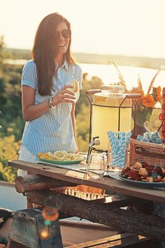 When life gives you lemons, make lemonade, a deliciously cool summer treat.