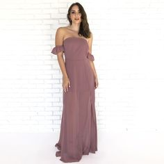 Special Day Mauve Maxi Dress - Dainty Hooligan Boutique Skater Style 4112db26e