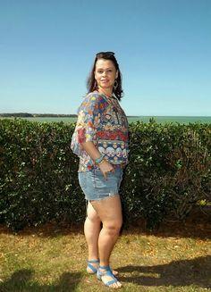 JuJu Voando no Cotidiano: Look da Ju - Shorts, Batinha e uma linda vista!