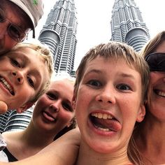 The mad @upsticksngo crew in front of the petronas twins towers! #upsticksandgo #petronastwintowers #travelgram #travelphotos #travellingtheworld #KL #kualalumpur #malaysia #travellingwithkids #thetravellife #travelfamily #family | Flickr - Photo Sharing!