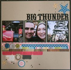 big thunder. by crafty.kari @2peasinabucket