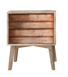 New Spring 2015 collection Giogio Copper Bedside Table, Graham and Green