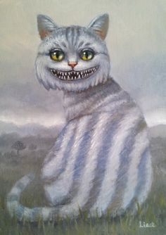 CHESHIRE CAT BY LIESE CHAVEZ