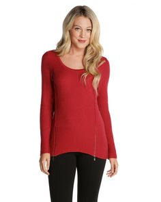 ZIPPED UP TOP - New Arrivals - NIC+ZOE