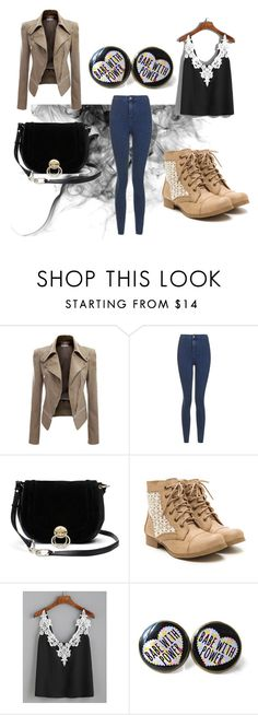 """""""Babe with power"""" by marijana-vitas on Polyvore featuring Topshop, Diane Von Furstenberg and WithChic"""