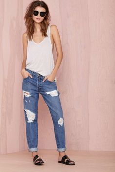 Nasty Gal Ex Boyfriend Jean | Shop What's New at Nasty Gal