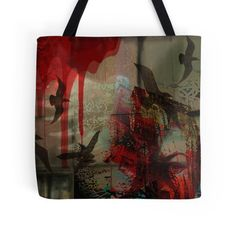 'Freedom-Graffiti/Fantasy Style' Tote Bag by DarkForgeStudio Large Bags, Small Bags, Cotton Tote Bags, Reusable Tote Bags, Medium Bags, Are You The One, Supernatural, Graffiti, Street Art