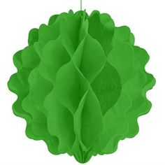 Lime Green - Baby Shower Honeycomb Ball Decorations