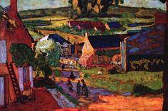 Pierre Bonnard - St Honore les Bains 1924