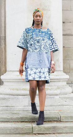 Vêtements africain courte robe dété robe Ankara robe