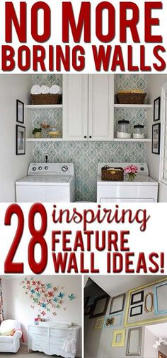Fancy walls on the cheap: 36 easy, beautiful DIY art ideas - * View Along the Way *