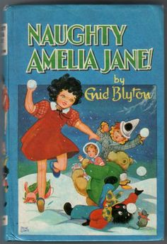 The Naughtiest Girl, My Friend <3 <3 <3 AMELIA JANE <3 <3 <3 Number one favourite of all my favourite Enid Blytons, loved her so much....