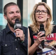 So beautiful ❤️❤️ Oliver Queen Felicity Smoak, Arrow Tv Series, Arrow Cast, Emily Bett Rickards, Stephen Amell, Green Arrow, Shadow Hunters, The Flash, Entertainment