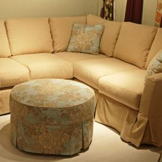 Slipcovers For Curved Sectional Sofas