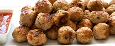 Thai Spiced Mini Chicken Meatballs by Claire from Sprinkles and Sprouts