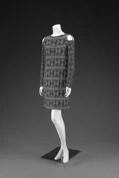 Rudi Gernreich (American, 1922-1985), Dress, about 1965; Indianapolis Museum of Art, Mr. and Mrs. William B. Ansted Jr. Art Fund, 2008.206