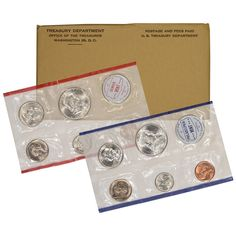 """Unopened Mint Box Contains 28 coins 14 each from /""""P/"""" and /""""D/"""" 2012 US Mint Set"""