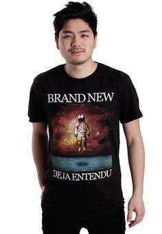 Brand New - Deja Entendu - T-Shirt - Official Merch Store - Impericon.com UK