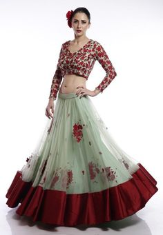 Silk Party Wear Lehenga Choli In Teal Colour Lehenga Choli Designs, Indian Attire, Indian Wear, Indian Outfits, Party Wear Lehenga, Red Lehenga, Anarkali, Indian Designer Outfits, Designer Dresses