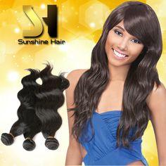 3 pcs lot virgin brazilian hair body wave DIY ombre hair weave fast free shipping
