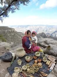 Tarahumara Indians of the Copper Canyon in Mexico.