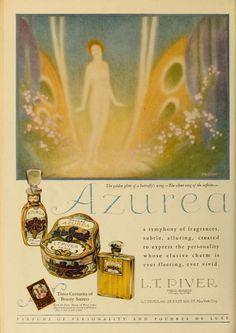 Photoplay (Jan - Jun 1925) Perfume Ad, Vintage Perfume, Perfume Bottles, Beauty Ad, Beauty Secrets, Graphic Design Art, Vintage Beauty, Vintage Ads, Jun