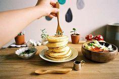 Πρωϊνό με pancakes <p><strong>Καλημέρα. Η αγαπημένη μου συνταγή για…
