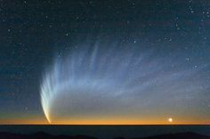 Komet McNaught, C/2006 P1, über dem Südpazifik (2.9.2015), photo: S. Deiries/Eso