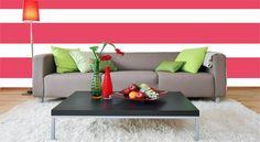 Como pintar paredes listradas - decoração e ideias blog