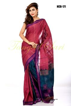 Soft Gas Cotton  Sari